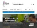 Site officiel de l'Education Nationale