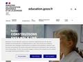 SITE DU MINISTERE DE L'EDUCATION NATIONALE