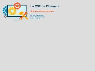 la CSF de Plœmeur