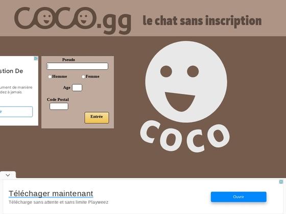 Coco.fr – Site de chat gratuit