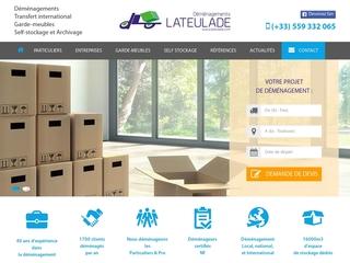 Lateulade Déménagement : Compagnie de déménagement
