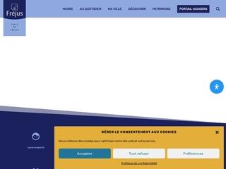 Site officiel de la Ville de Fréjus
