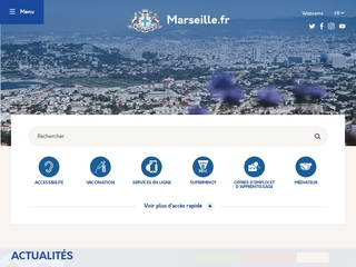 Site officiel de la Ville de Marseille
