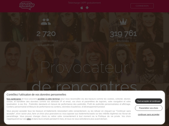 Tchatche.com – Chat et rencontres des célibataires