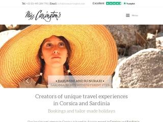 Miss Carrington : Agence de voyage en Corse