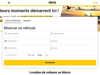 Location Voiture Hertz Maroc