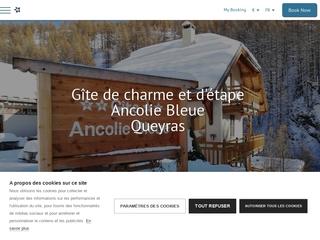 Ancolie bleue – Gîte d'étape – Queyras