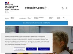 Rythmes scolaires - Ministère de l'éducation nationale
