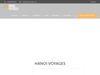 Hanoi Voyages : agence de voyage sur mesure en Asie du sud est