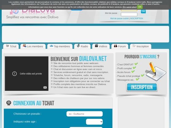 Dialova.net – Tchatche avec cam