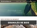 achat granulés de bois/pellets bois de chauffage Var Coulon & Fils