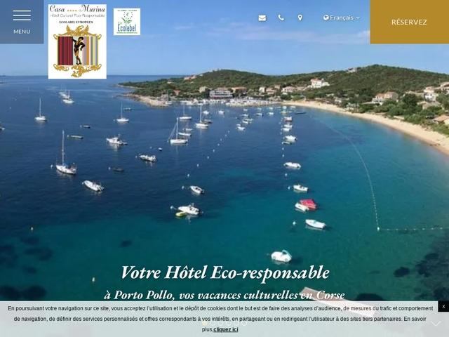 Casa Murina, hôtel de charme 3 étoiles à Porto Pollo en Corse
