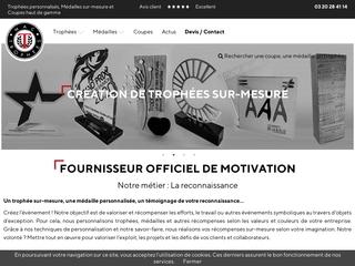 Fabricant de trophées et médailles à Lille