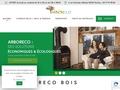 vente livraison granulés bois pellets bûches poêle Arboreco Loire 42