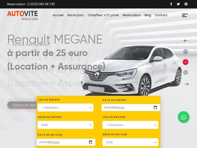 Autovite, location de voiture à l'aéroport de Casablanca