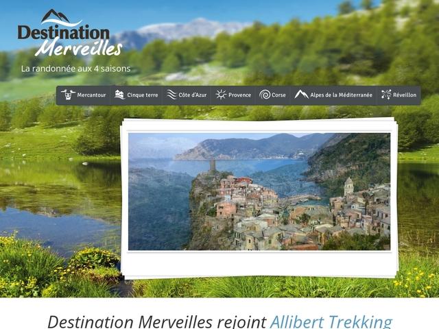 Destination Merveilles: randonnée Cinque Terre, Mercantour et Provence Côte d'Azur
