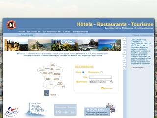 Guide touristique des hotels et restaurants INI France