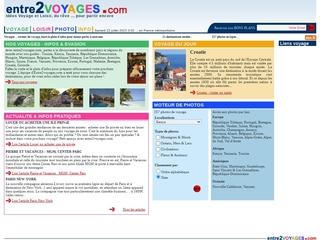 Entre2voyages.com  : idées et infos voyage