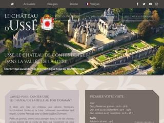Visitez le château d\'Ussé en Indre-et-Loire qui a inspiré le conte de fées de Charles Perrault : La belle au bois dormant.
