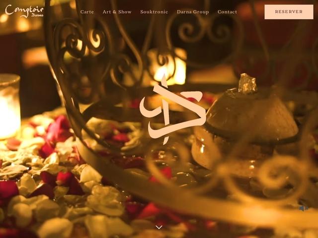 Restaurant Comptoir Darna à Marrakech