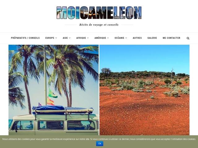 Moi Caméléon : Blog voyage d'un jeune français