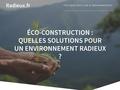 isolation  naturelle, énergies renouvelables, éoliennes, produits antigraffitis, Râdieux Environnement