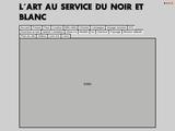 L'art au service du noir et blanc