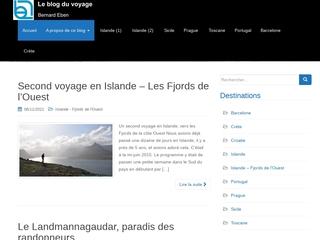 Le blog du voyage de Bernard Eben