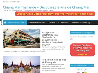 Chiang Mai News : le guide touristique sur Chiang Mai