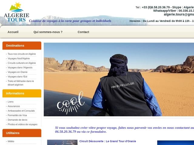 Algérie Tours : agence de voyage réceptive en Algérie