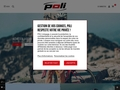 POLI : Cyclisme - Athlétisme - Triathlon - Roller : Vêtements personnalisés aux couleurs de votre club.