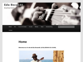 Edu Bocande, guitariste