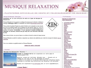 Musique de Relaxation - My Music Shop