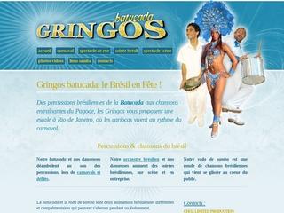 Samba gringos, spectacle de rue brésilien