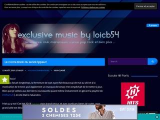 Nouveauté musique - Exclusive Music by Loicb54