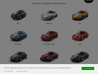 Vente pièces neuves pour toute Porsche.