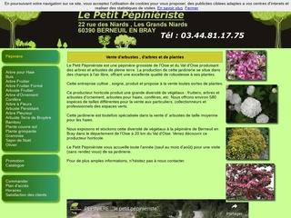 Jardinerie pépinière : le petit pépiniériste