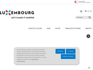 Portail officiel du Grand-Duché de Luxembourg