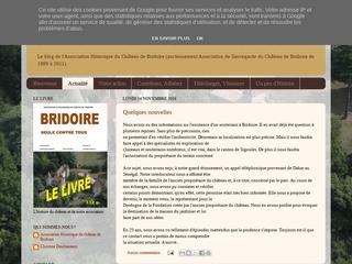 Association Historique de Ribagnac pour la Sauvegarde du château de Bridoire.