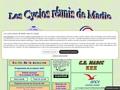 Les cyclos r�unis de Madic dans le Cantal