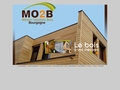 maison ossature bois basse consommation bioclimatique en Bourgogne