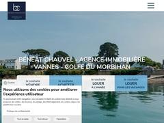Détails : Bénéat-Chauvel - Achat, vente et location immobilier