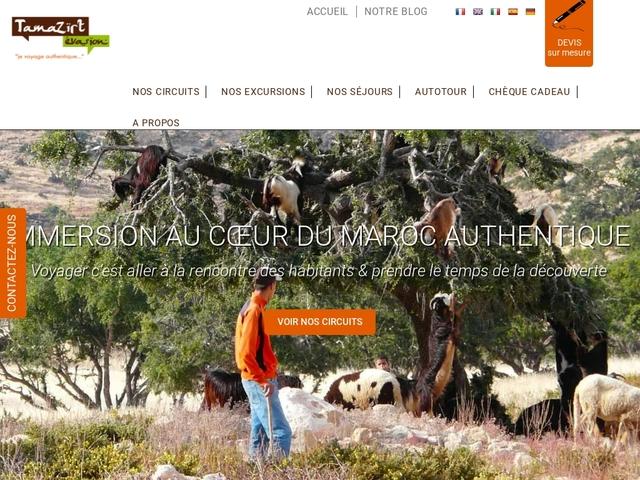 Circuit au Maroc – Tamazirt évasion