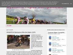 Cyclisme Alpes Compétition