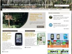 Rando VTT 33 :: Les randos VTT de Gironde