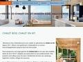 acheter chalet maison bois en kit madriers empilés Languedoc-Roussillon