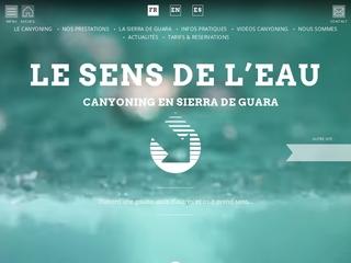 Canyoning en Sierra de Guara avec Le Sens de l'Eau