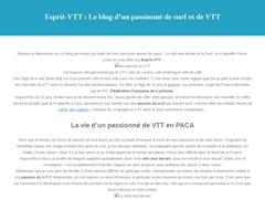 MounTainBike Spirit - L'entretien et pilotage du VTT