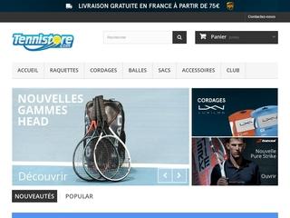 TenniStore,votre magasin de tennis en ligne
