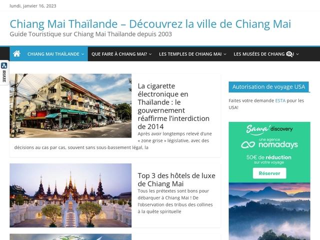Chiang Mai News : le guide touristique sur Chiang Mai